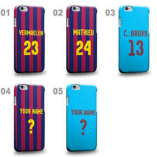 Personalised Customized Barcelona Soccer Team Home Jersey D Phone Case Cover