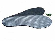Unisex  Womens / Mens Thermal Insoles Pedag Aluminum & Felt  All Size 3 -12
