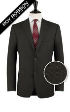 Roy Robson Brown Pindot Suit Jacket with AMF Stitching