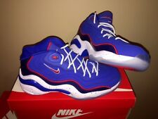 Nike Air Zoom Flight 96 Allen Iverson 3 76'ers Banned 317980-400 Red Blue AI