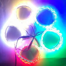 2pcs LED Car Light 50cm Flexible 60LED SMD5050 Waterproof Strip Motorcycle DC12V