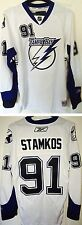 STEVEN STAMKOS TAMPA BAY LIGHTNING REEBOK PREMIER PRO CUSTOMIZED HOCKEY JERSEY