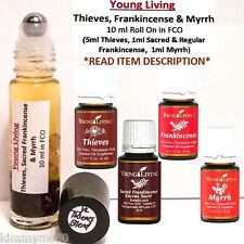 Young Living Essential Oils THIEVES Sacred Frankincense & Myrrh Oil 10ml Roll On