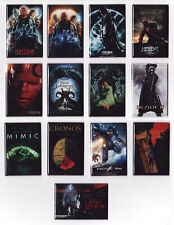 GUILLERMO DEL TORO MOVIE POSTER MAGNETS (hellboy 2 pans labyrinth pacific rim)