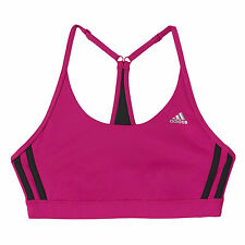 adidas Clima Essential Womens Reversible Bra Support Pink
