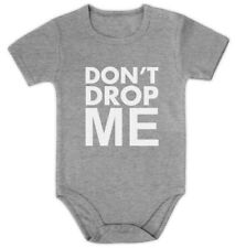 Don't Drop Me Baby Onesie Funny Cute Bodysuit Shower gift idea Fathers day Xmas