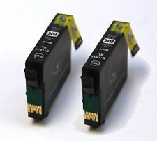 2 Black Compatible Ink Cartridges to Replace T1811 / 18XL