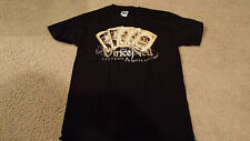 Authentic Vince Neil Tattoos and Tequilla Logo T-Shirt  NEW S-XL Motley Crew