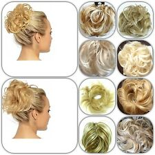 Blonde Mix Hair Scrunchies All sizes & new X X large for wedding prom party updo