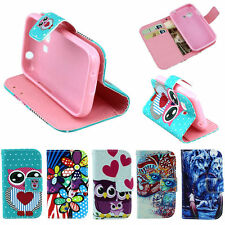 Christmas Chic Wallet Protector Dust Case Cover For Samsung Galaxy Young 2 G130