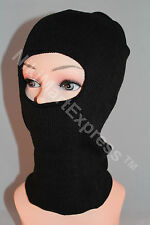 New 3 Hole TACTICAL Face MASK Balaclava Beanie Knit CAP Knitted Hat