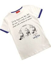 Boys Official Diary of a Wimpy Kid White T-Shirt Ages 5-6 & 7-8 Years Last Few