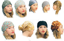 New One Size Women Head covering Jewish Judaica Woman Tichel Hair Snood Bandana