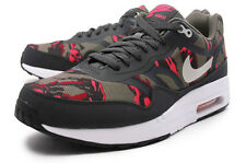 Nike Air Max 1 Premium Tape Motar Grey Red Camo 599514 206 Red 90 95 Army