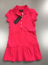 NWT New Girl's Tommy Hilfiger Dress Pink Polo Dress 6-9 Mo 18 Mo 4-5, 8-10,12-14