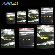 Plastic Ziplock Bags Seal Bags Reclosable Zipper Bags 7 Kinds Of Size Clear