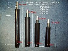 Office Chair Parts -Replacement gas spindle/gas lift for chair height adjustment