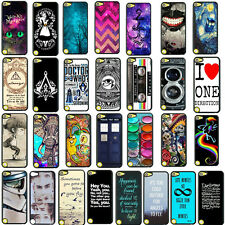 Unique Various patterns Printed Back Hard Case Cover For Apple Ipod Touch 5