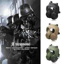 New Cosplay Airsoft Tactical Wargame DUMMY Gas Protective Mask Anti-Fog Gear Mo
