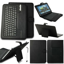 "Wireless Bluetooth Keyboard Leather Case Cover For 9"" 9.7"" 10"" 10.1"" inch Tablet"