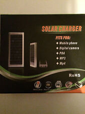 Portable Solar Charger 1350mAh for Phone MP3 MP4 Camera - Pink Blue Silver Black