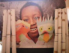 """Vinyl Banners 48"""" x 67"""" Photo's & Picture Artwork Eyelets to Display"""