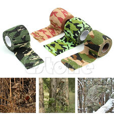 1 Roll Waterproof Sporting Camo Hunting Camping Hiking Camouflage Stealth Tape