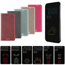 dot view case slim smart case cover for samsung galaxy note 4 N9100 free film