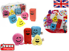 Official CBeebies Mister Maker Plush Shapes With Sound Bath Squirter Collectable