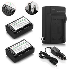 NP-FH50 Battery + Charger For Sony NP-FH40 NP-FH30 /100 DSC-HX1 HX100V A230 A330