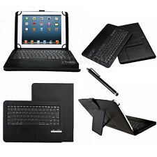 "US Stock Bluetooth Keyboard Stand PU Leather Case Cover For 7"" 8"" 8.4"" Tablet PC"