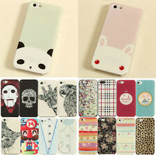 New Painted Cute Cartoon Pattern Hard Case Cover Skin For iPhone 5S 4S 5C 6