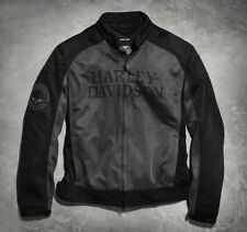 Men's Harley Davidson Willie G Skull Mesh Riding Jacket
