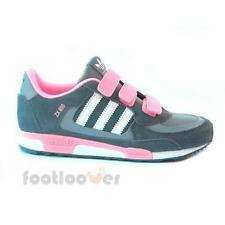Shoes Adidas Originals ZX 850 Cf K D67820 Running gray white pink Junior Sneaker