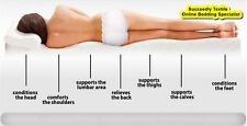 ORTHOPEDIC EXTREME COMFORT TOPPER HYPOALLERGENIC MEMORY FOAM TOPPER ALL SIZES