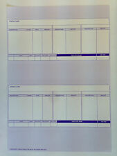 1000 or 2000 Payslips Sage Compatible 0680 Forms A4 Laser/Inkjet RS19 Wage Slips