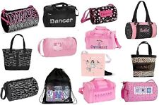 NWT Dance Gymnastics Bags Duffel Zebra Pink Tote many styles lots of choices NEW
