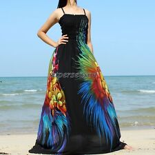Maxi Dress Plus Size Prom Party Wedding Black Formal Gowns Evening XL 2X 3X 4X