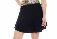 SWIM SKIRT- *XMAS SPECIAL PRICE* + FREE P&P -covers thighs & tummy BLACK 8 to 24