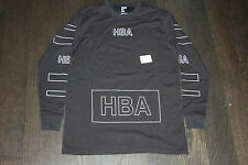Hood By Air Outline Logo F14 L/S Tee yeezy hba been trill off white