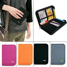Travel Passport Credit ID Card Document Holder Case Bag Organizer Wallet Purse