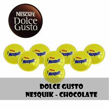 DOLCE GUSTO  NESQUIK CHOCOLATE -  12 - 24 -48 Capsules