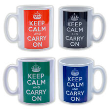 Keep Calm Mugs Custom Personalised with any Colour & Text Various Mugs Gift Box