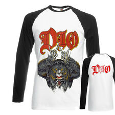 NEW TEE DTG printed T-shirt longsleeve,DIO Ronnie James Dio- rock band S-XXL