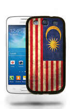 Malaysia National Vintage Flag Case Cover for Samsung Galaxy and Note