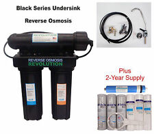 Traditional Home Drinking USA Reverse Osmosis System. Install under kitchen sink