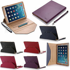 Folio Magnetic PU Leather Smart Cover Stand Case For Apple iPad Air 4 3 2 Mini