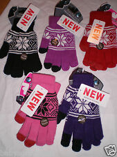 KIDS Winter Touch Screen  Gloves FOR  iPad iPhone HTC Smart Phone. UNISEX.