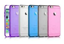 Ultra Thin Soft Clear Gel Silicone Transparent Case Cover For Apple iPhone 5S 6