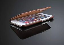 NEW GENUINE LEATHER FLIP CASE COVER FOR APPLE IPHONE 6 6S PLUS 5.5 INCH SCREEN